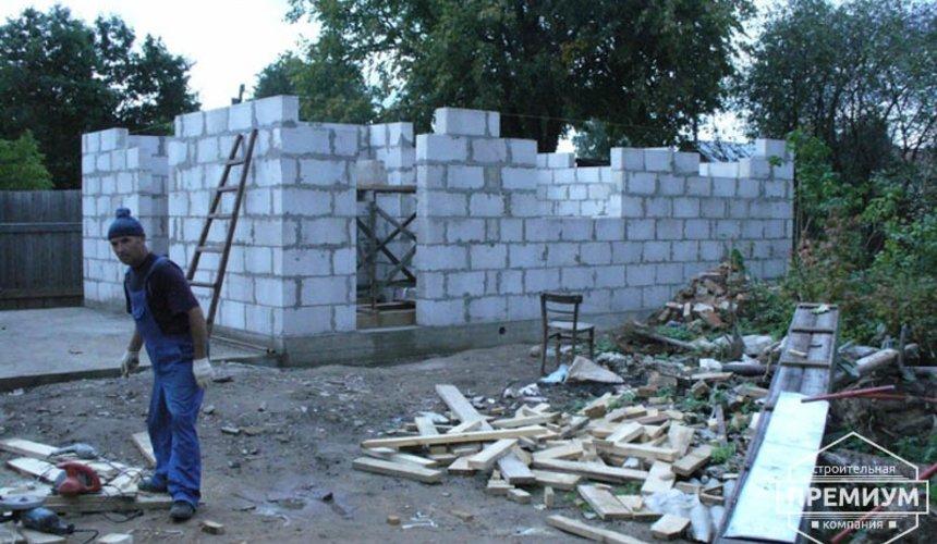 Проектирование и строительство дома из блоков в коттеджном посёлке Брусника 48