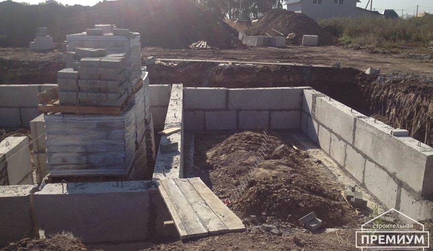 Строительство дома из блоков в с.Курганово 29