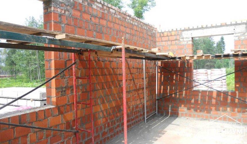 Строительство дома из кирпича в п.Сысерть 17