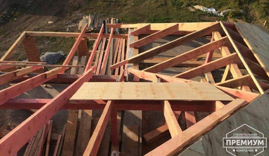 Строительство дома из блоков в коттеджном посёлке Алые паруса 61