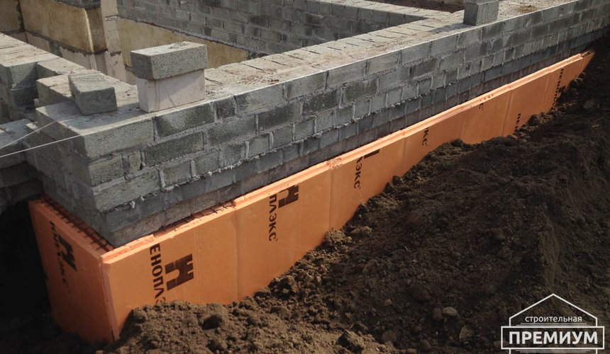 Строительство дома из блоков в с.Курганово 33