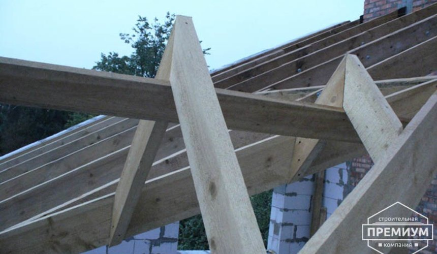 Проектирование и строительство дома из блоков в коттеджном посёлке Брусника 64