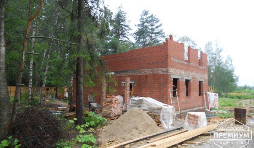 Строительство дома из кирпича в п.Сысерть 25