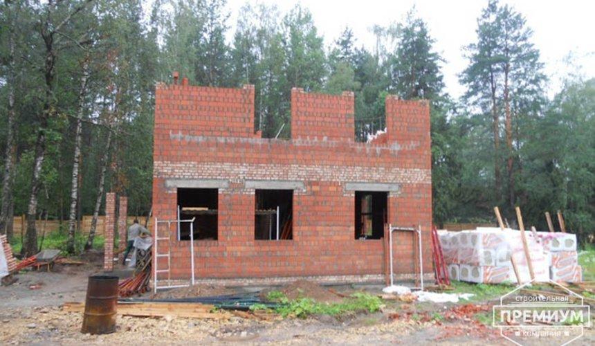 Строительство дома из кирпича в п.Сысерть 28