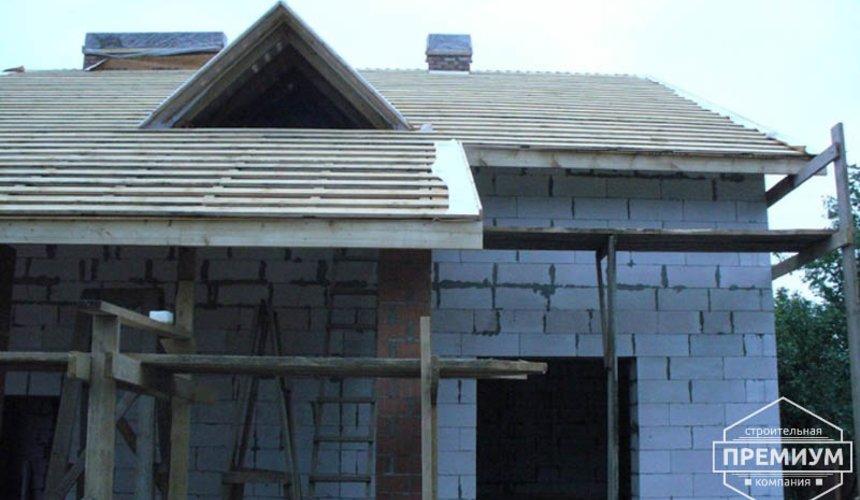 Проектирование и строительство дома из блоков в коттеджном посёлке Брусника 67