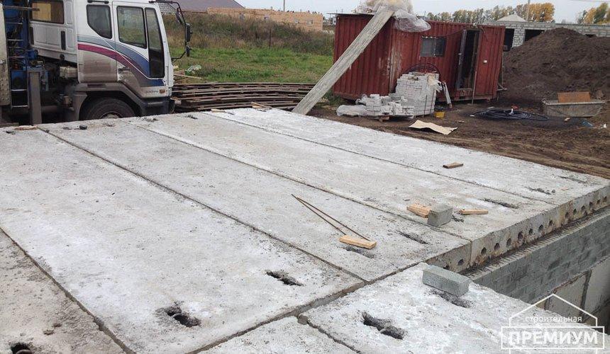 Строительство дома из блоков в с.Курганово 38
