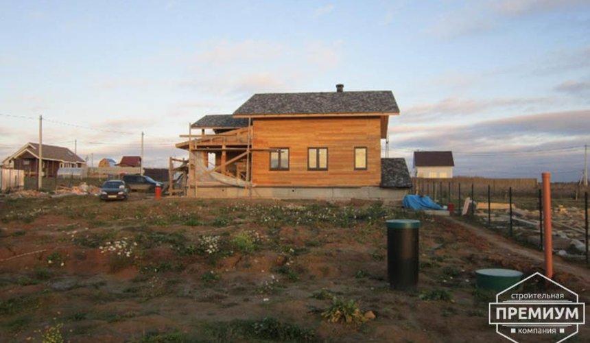 Строительство каркасного дома в коттеджном посёлке Александрия 1