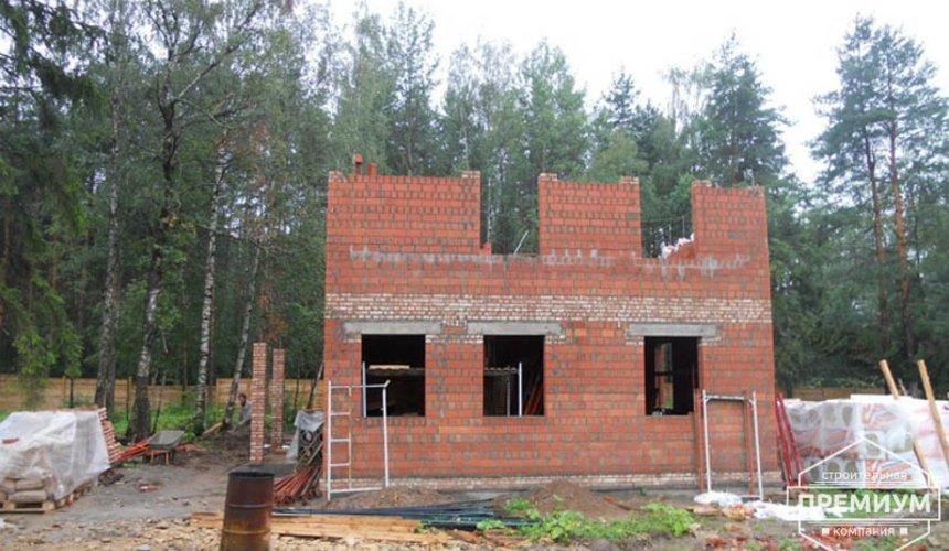Строительство дома из кирпича в п.Сысерть 32