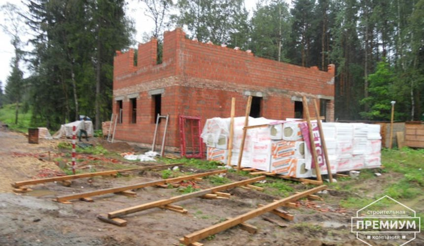 Строительство дома из кирпича в п.Сысерть 37