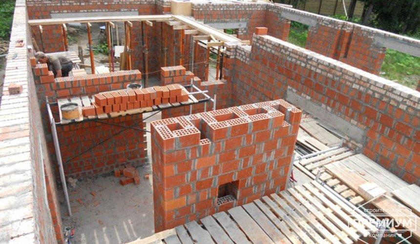 Строительство дома из кирпича в п.Сысерть 39