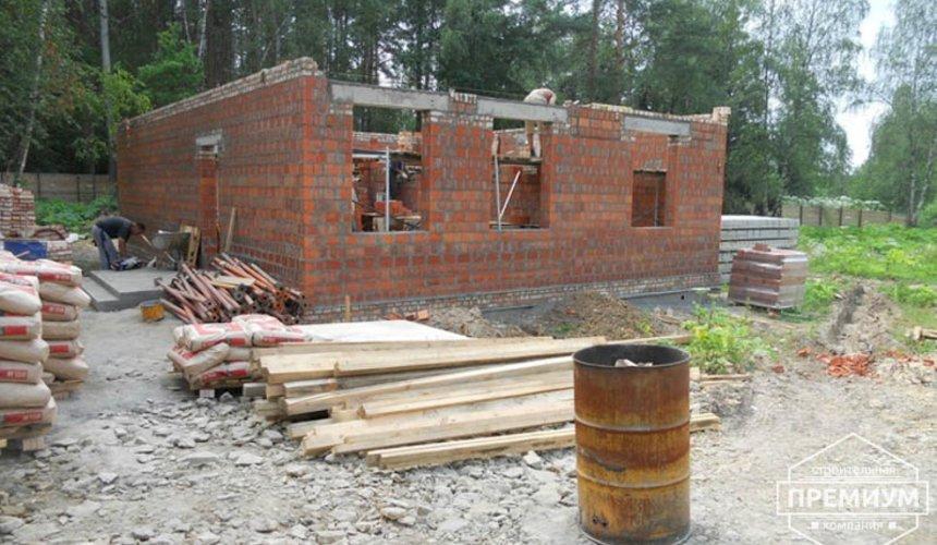 Строительство дома из кирпича в п.Сысерть 42