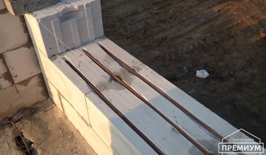 Строительство дома из блоков в с.Курганово 44