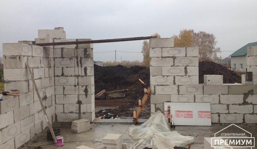 Строительство дома из блоков в с.Курганово 46