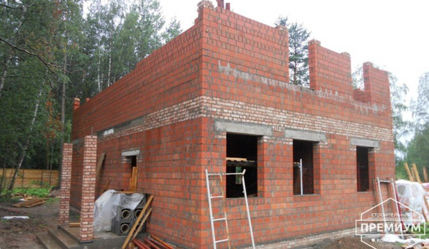 Строительство дома из кирпича в п.Сысерть 50