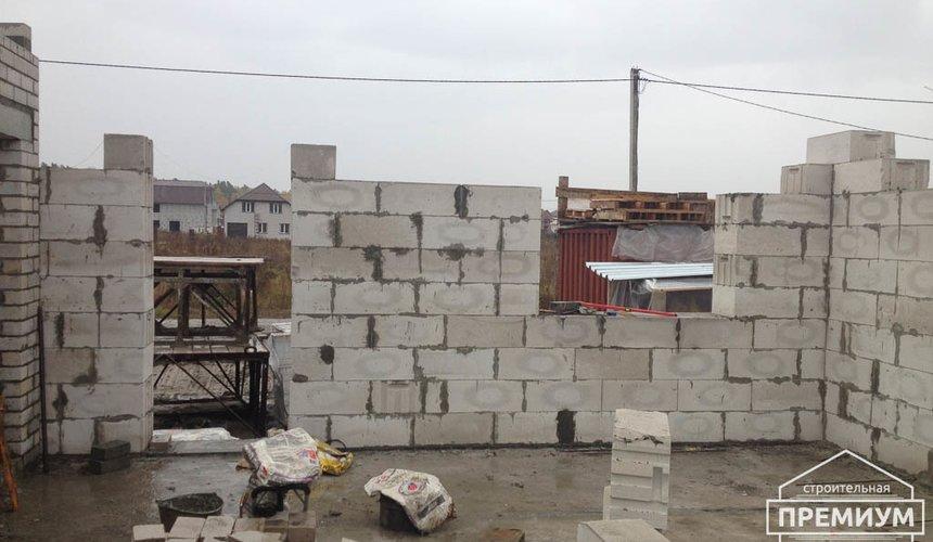Строительство дома из блоков в с.Курганово 48