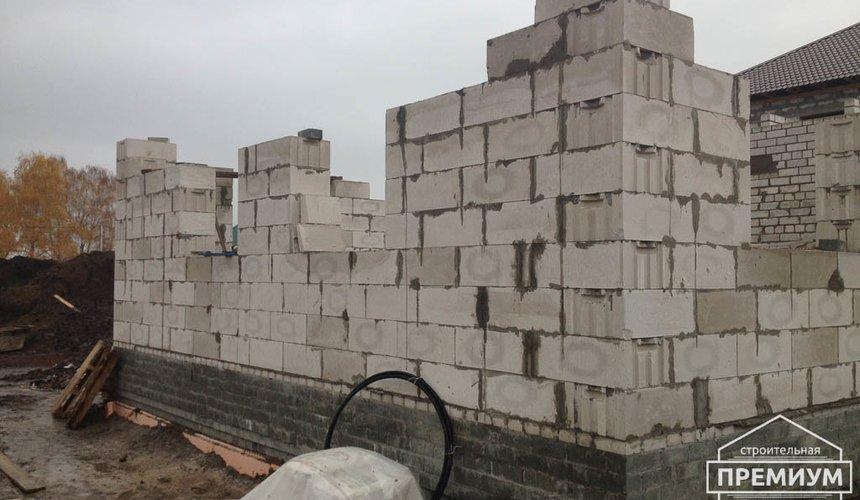 Строительство дома из блоков в с.Курганово 51