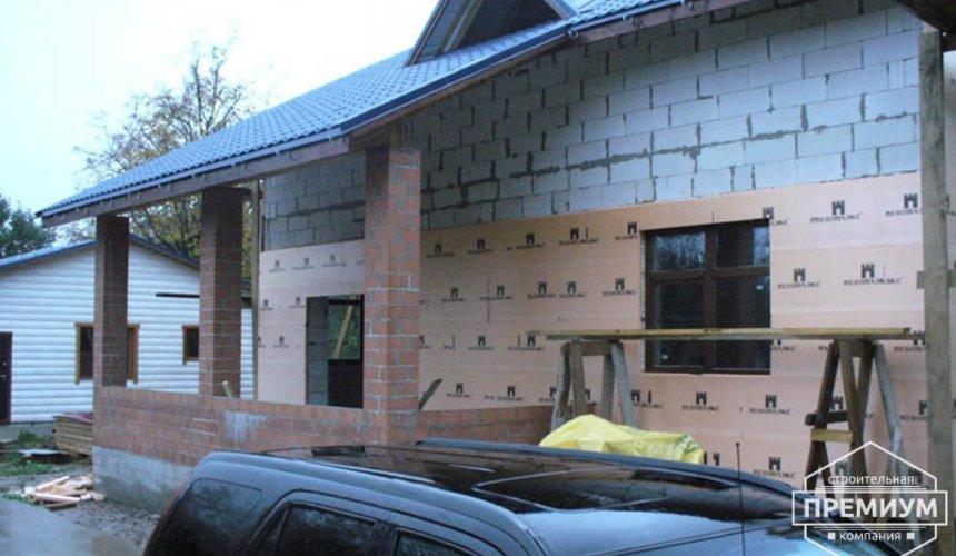Проектирование и строительство дома из блоков в коттеджном посёлке Брусника 91
