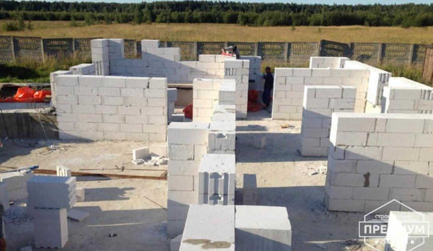 Проектирование и строительство дома из блоков в коттеджном посёлке Новая Россоха 9