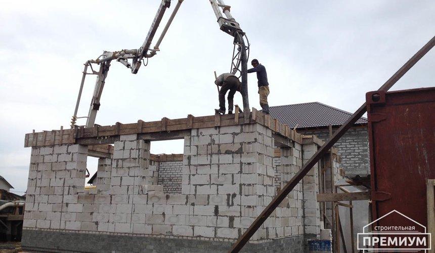 Строительство дома из блоков в с.Курганово 55