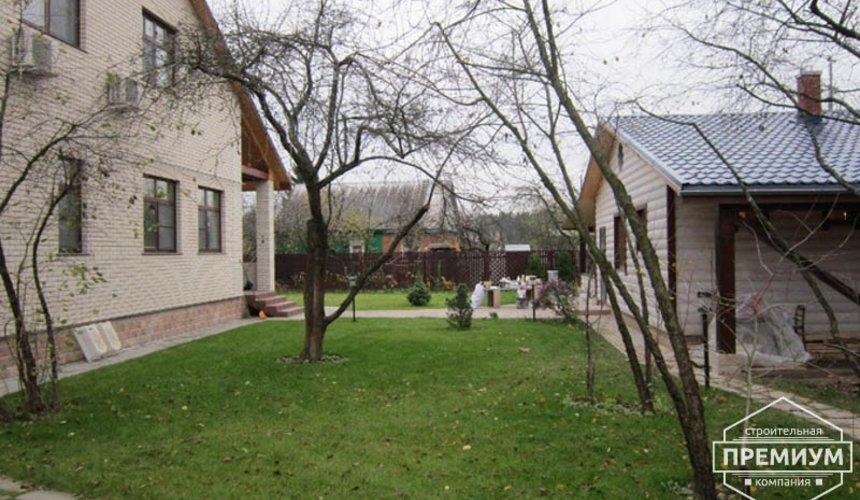 Проектирование и строительство дома из блоков в коттеджном посёлке Брусника 3