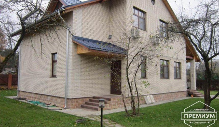 Проектирование и строительство дома из блоков в коттеджном посёлке Брусника 5