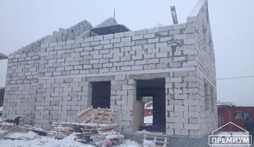 Строительство дома из блоков в с.Курганово 66