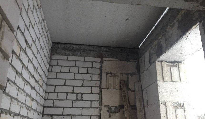 Строительство дома из блоков в с.Курганово 58