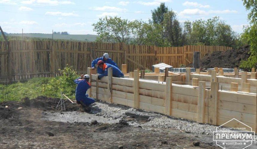 Строительство дома из блоков в коттеджном посёлке Алые паруса 13