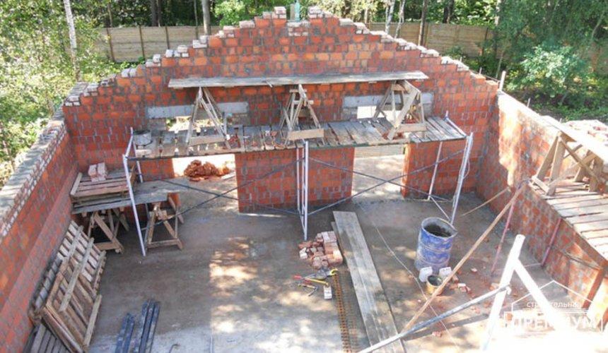 Строительство дома из кирпича в п.Сысерть 58