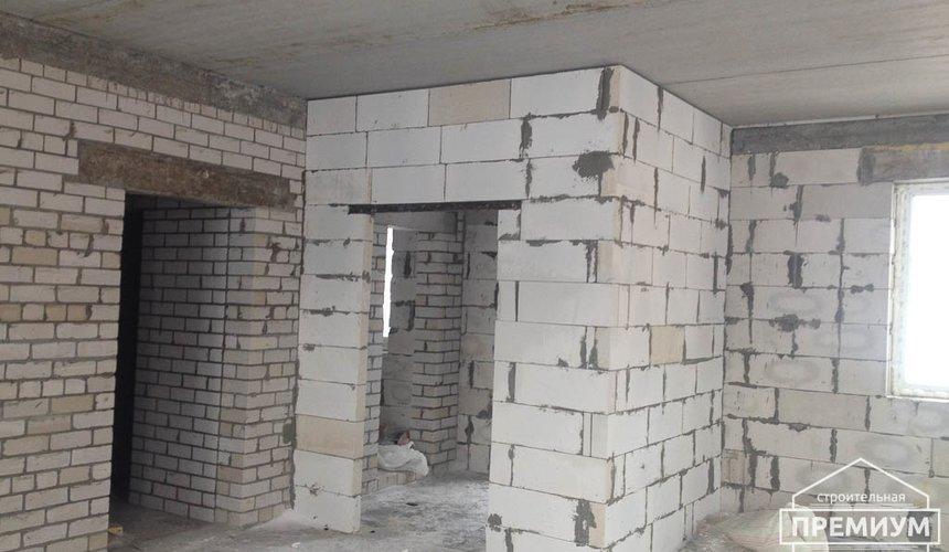 Строительство дома из блоков в с.Курганово 76