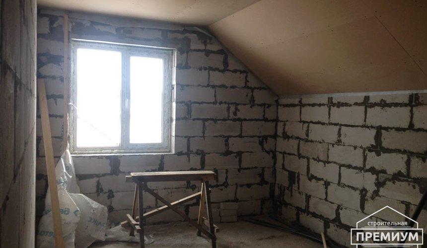 Строительство дома из блоков в с.Курганово 79