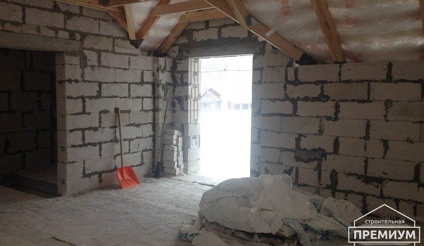 Строительство дома из блоков в с.Курганово 69