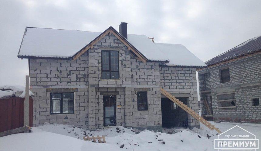 Строительство дома из блоков в с.Курганово 74