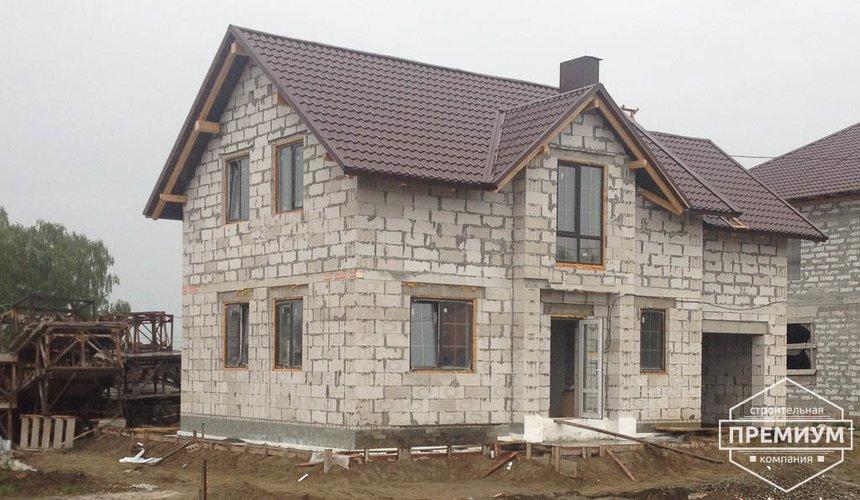Строительство дома из блоков в с.Курганово 3