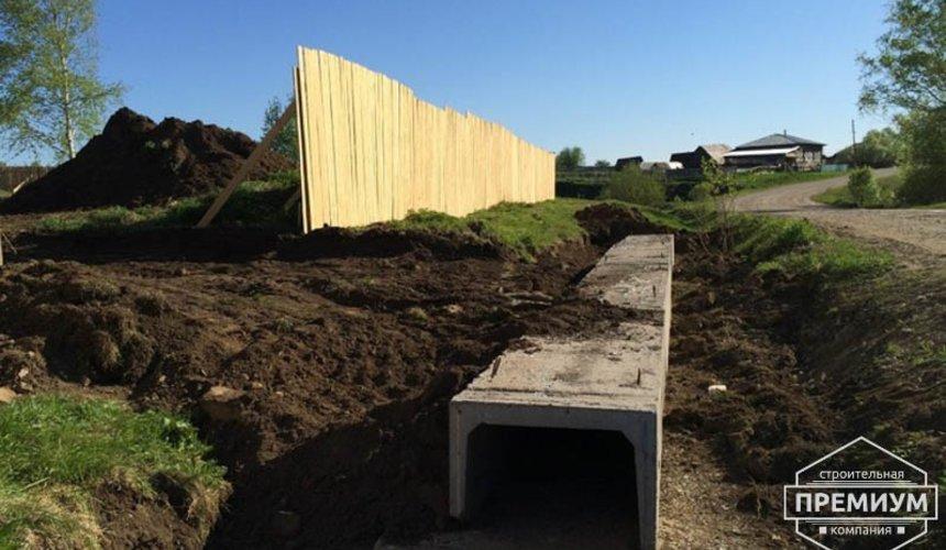 Строительство дома из блоков в коттеджном посёлке Алые паруса 15