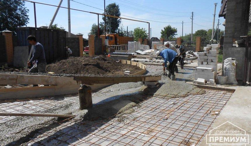 Строительство дома из блоков в коттеджном посёлке Александрия 74
