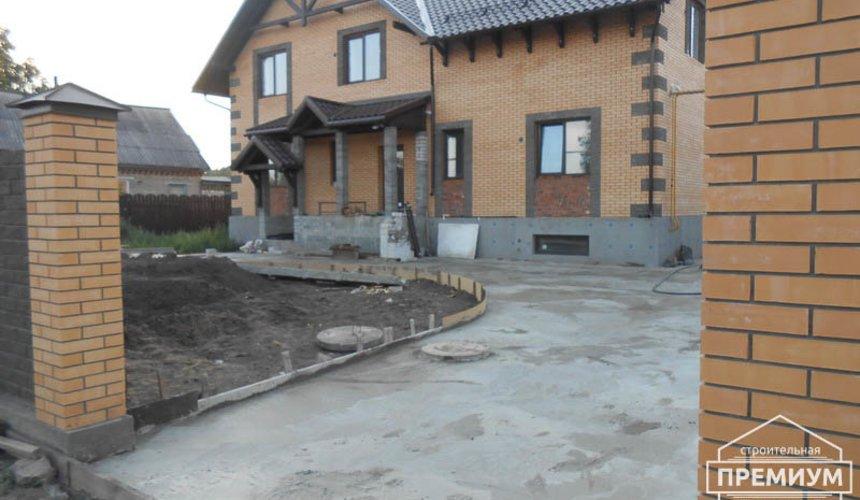 Строительство дома из блоков в коттеджном посёлке Александрия 2