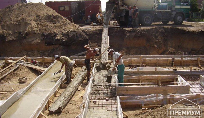 Строительство дома из блоков в коттеджном посёлке Александрия 15