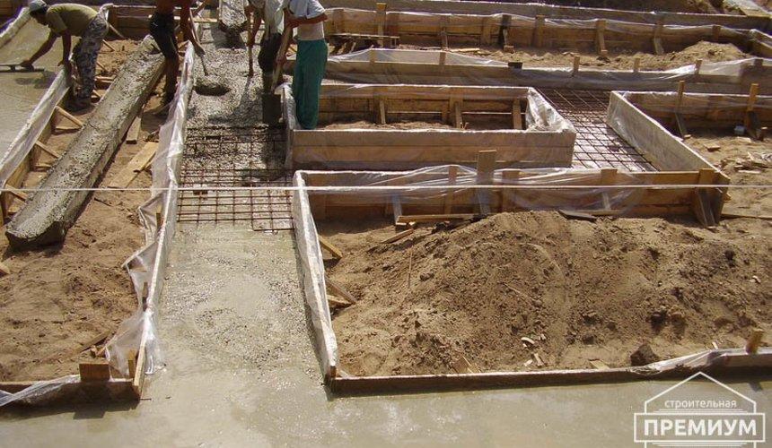 Строительство дома из блоков в коттеджном посёлке Александрия 17
