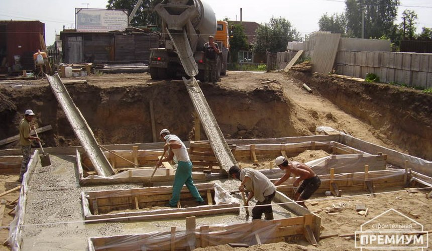 Строительство дома из блоков в коттеджном посёлке Александрия 18