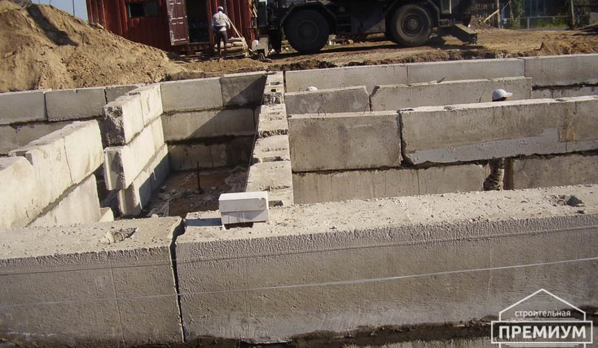 Строительство дома из блоков в коттеджном посёлке Александрия 25