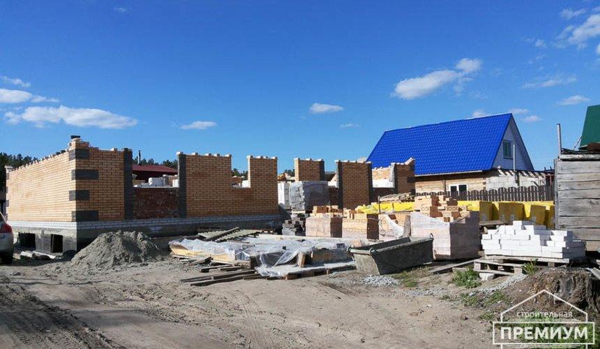 Строительство дома из блоков в коттеджном посёлке Александрия 34