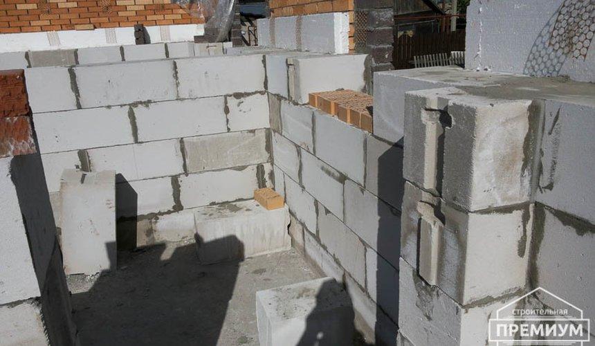 Строительство дома из блоков в коттеджном посёлке Александрия 35