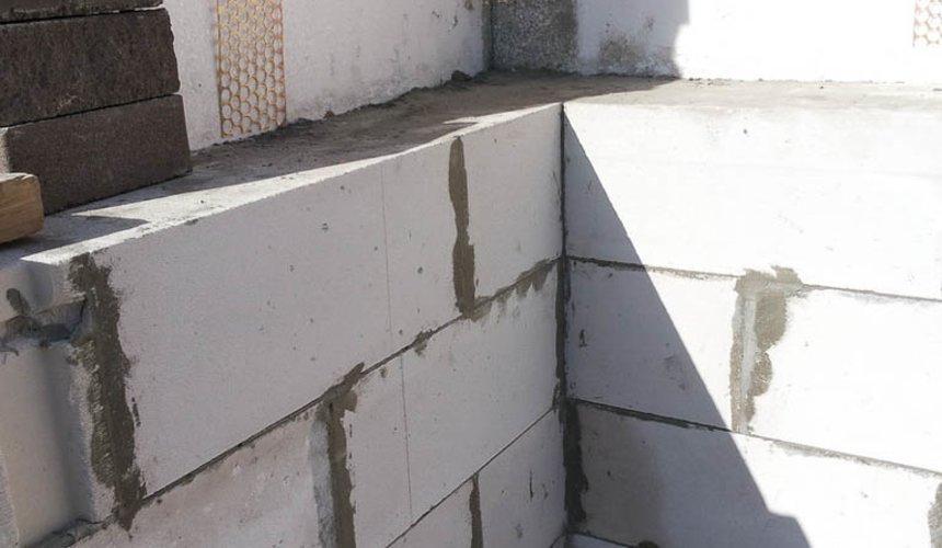 Строительство дома из блоков в коттеджном посёлке Александрия 36