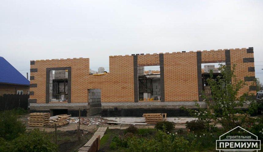 Строительство дома из блоков в коттеджном посёлке Александрия 43