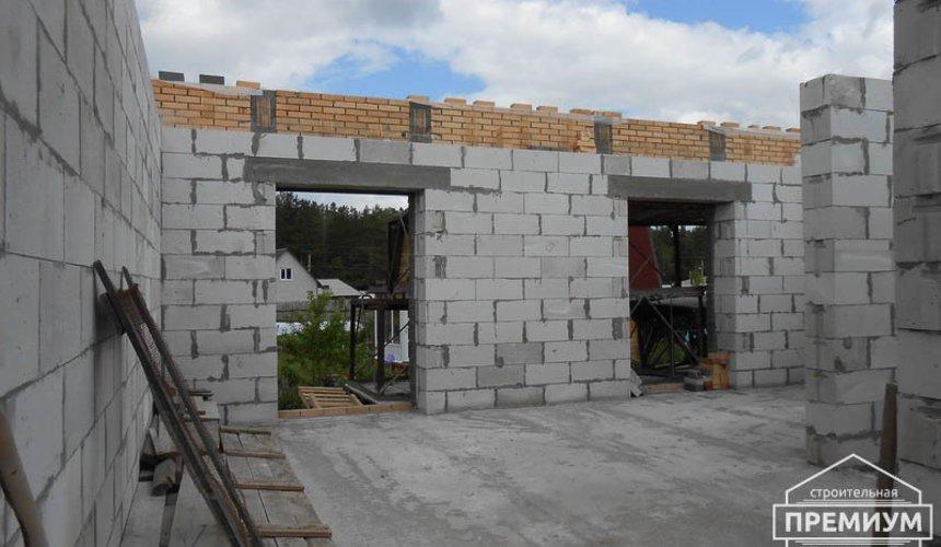 Строительство дома из блоков в коттеджном посёлке Александрия 47