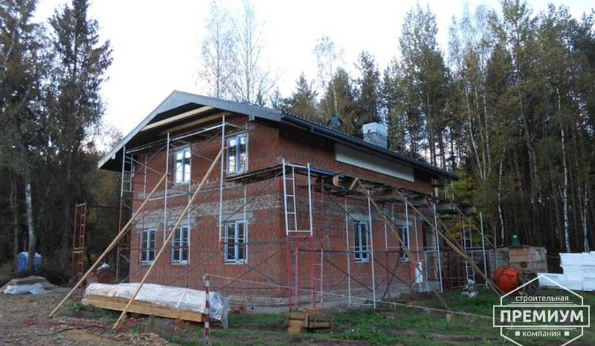 Строительство дома из кирпича в п.Сысерть 163