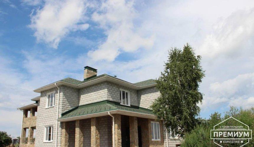 Строительство дома из блоков в коттеджном посёлке Алые паруса 4