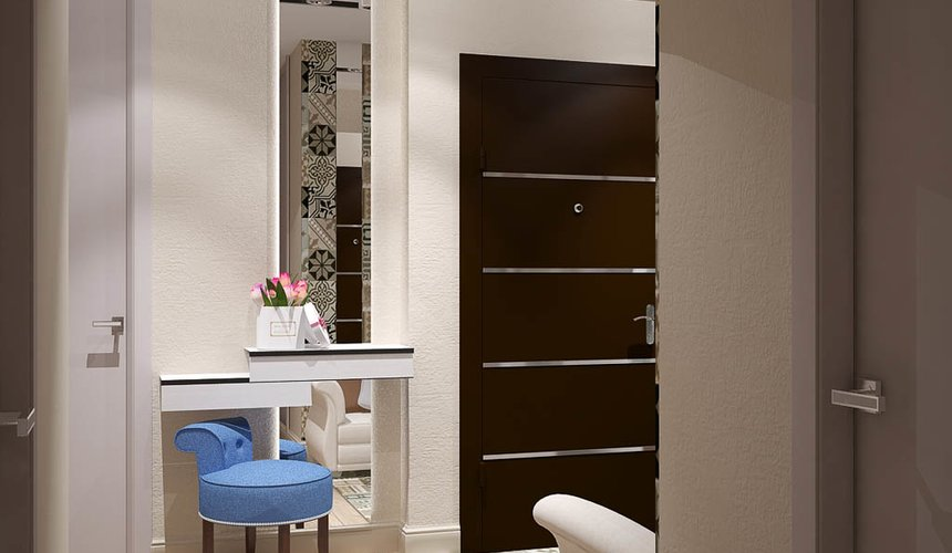 Ремонт и дизайн интерьера трехкомнатной квартиры по ул. Татищева 49 99