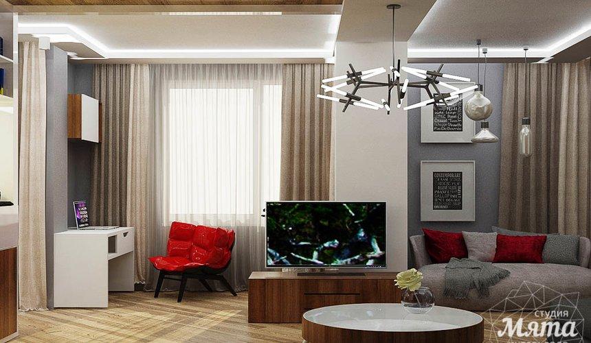 Ремонт и дизайн интерьера трехкомнатной квартиры по ул. Татищева 49 86